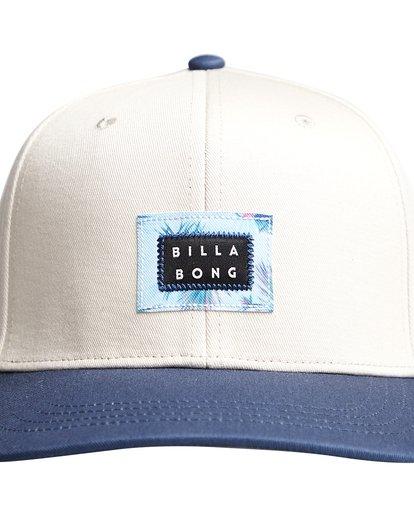 4 Plateau - Snapback Cap für Männer Blau Q5CM03BIF9 Billabong