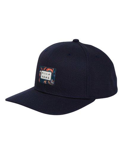 6 Plateau - Snapback Cap für Männer Blau Q5CM03BIF9 Billabong