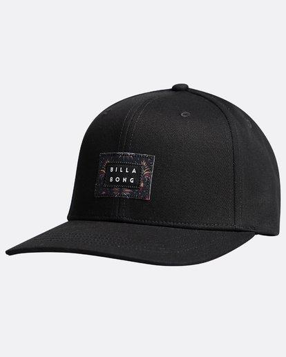 3 Plateau - Snapback Cap für Männer Schwarz Q5CM03BIF9 Billabong