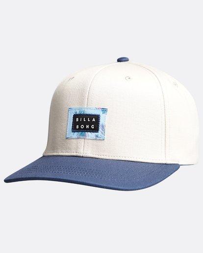 2 Plateau - Snapback Cap für Männer Blau Q5CM03BIF9 Billabong