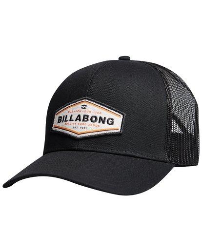 8 Walled - Trucker Cap for Men Black Q5CT01BIF9 Billabong