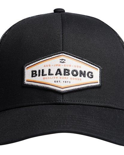 4 Walled - Trucker Cap for Men Black Q5CT01BIF9 Billabong