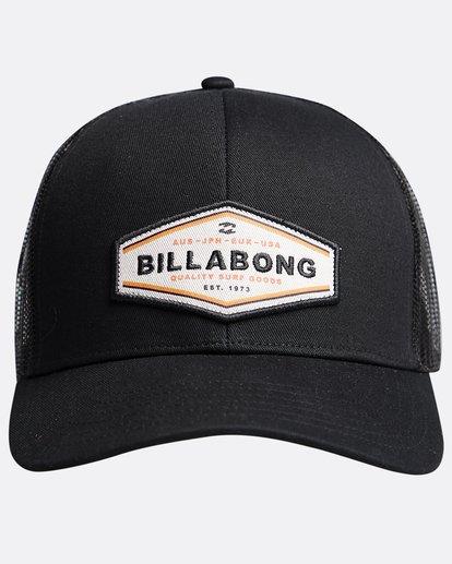 0 Walled - Trucker Cap for Men Black Q5CT01BIF9 Billabong