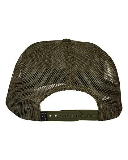 1 Flatwall - Trucker Cap für Männer Grün Q5CT02BIF9 Billabong