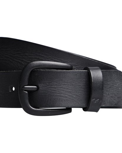 1 All Day - Leather Belt for Men Black Q5LB02BIF9 Billabong