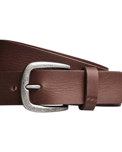 1 All Day - Leather Belt for Men Brown Q5LB02BIF9 Billabong
