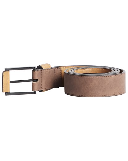 3 Gaviotas - Belt for Men Brown Q5MB01BIF9 Billabong