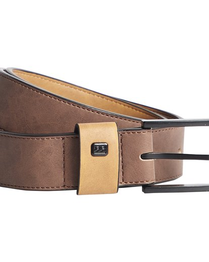 2 Gaviotas - Belt for Men Brown Q5MB01BIF9 Billabong