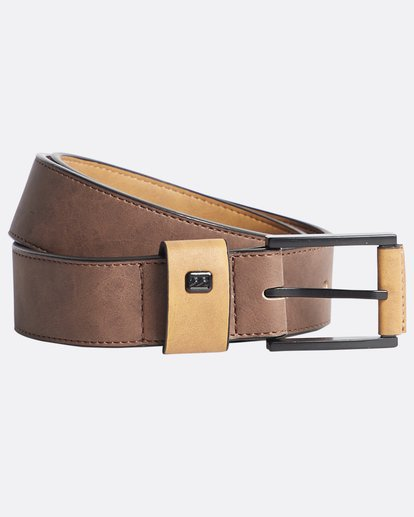 0 Gaviotas - Belt for Men Brown Q5MB01BIF9 Billabong