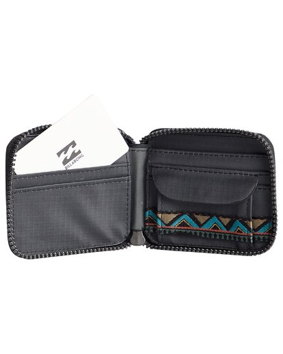 7 Trek - Cartera para Hombre Negro Q5WM08BIF9 Billabong