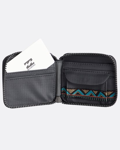2 Trek - Cartera para Hombre Negro Q5WM08BIF9 Billabong