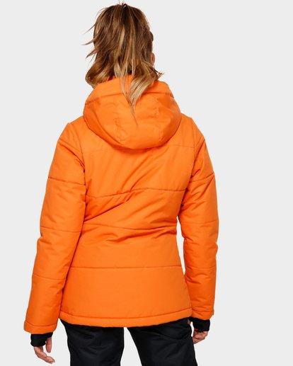 3 Down Rider 2L 10K Jacket Orange Q6FJ02 Billabong