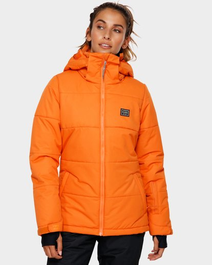 1 Down Rider 2L 10K Jacket Orange Q6FJ02 Billabong