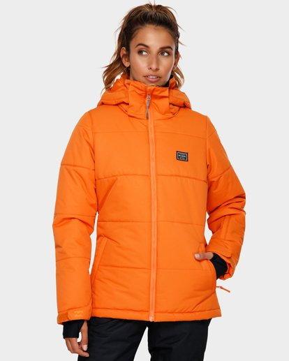 0 Down Rider 2L 10K Jacket Orange Q6FJ02 Billabong