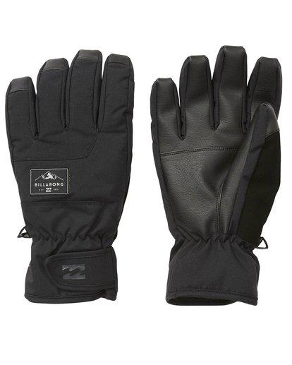 1 Kera - Snow Gloves for Men Black Q6GL02BIF9 Billabong