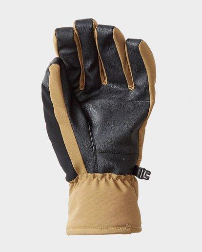 1 Kera Mens Gloves Brown Q6GL02S Billabong