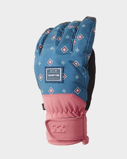 0 High Five Womens Gloves Blue Q6GL05S Billabong
