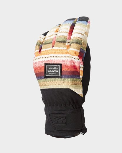 0 High Five Womens Gloves Black Q6GL05S Billabong