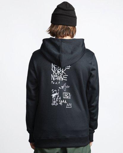 1 Basquiat - Thermo-Fleece Kapuze für Männer Schwarz Q6HO01BIF9 Billabong