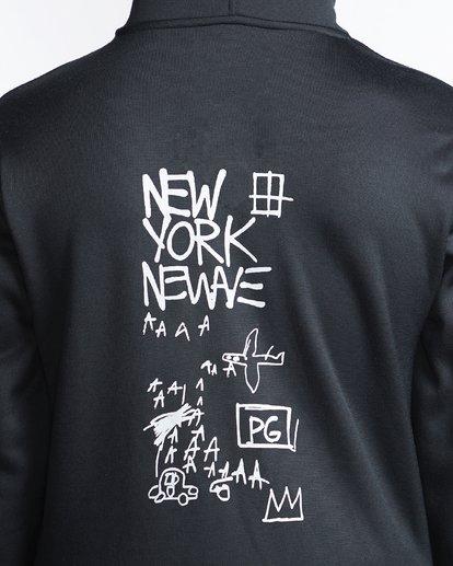 4 Basquiat - Thermo-Fleece Kapuze für Männer Schwarz Q6HO01BIF9 Billabong