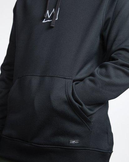 5 Basquiat - Thermo-Fleece Kapuze für Männer Schwarz Q6HO01BIF9 Billabong