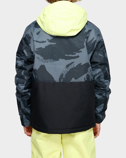 3 Boys Fifty 50 Jacket Yellow Q6JB02S Billabong