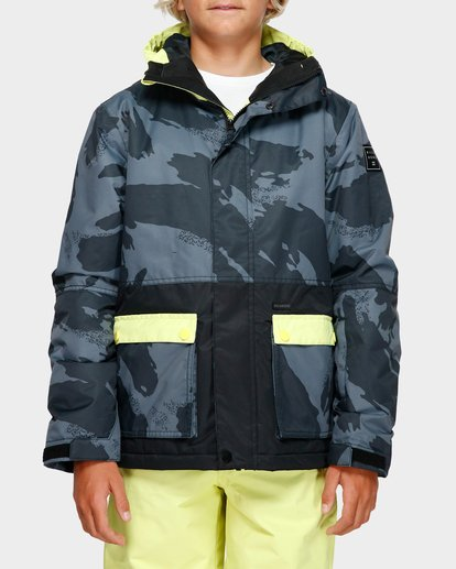 1 Boys Fifty 50 Jacket Yellow Q6JB02S Billabong