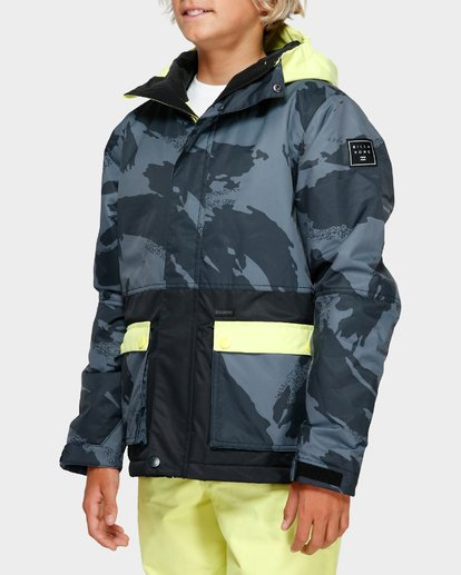 2 Boys Fifty 50 Jacket Yellow Q6JB02S Billabong