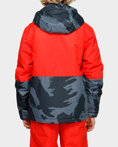3 Boys Fifty 50 Jacket Red Q6JB02S Billabong