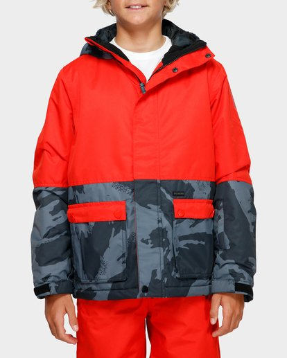 1 Boys Fifty 50 Jacket Red Q6JB02S Billabong