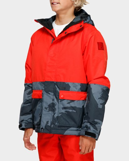 2 Boys Fifty 50 Jacket Red Q6JB02S Billabong