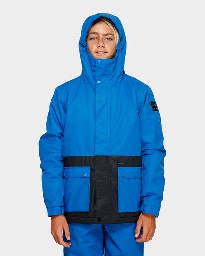 4 Boys Fifty 50 Jacket Blue Q6JB02S Billabong