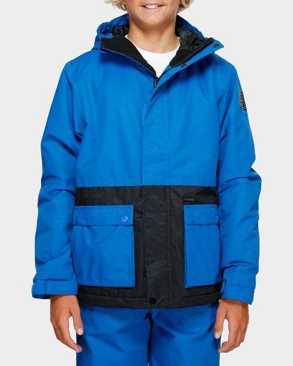 1 Boys Fifty 50 Jacket Blue Q6JB02S Billabong