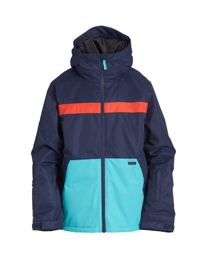 0 All Days - Snow Jacket for Boys Blue Q6JB10BIF9 Billabong