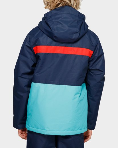3 Boys All Day 2L 10K Jacket Blue Q6JB10S Billabong