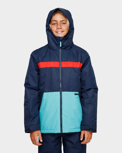 4 Boys All Day 2L 10K Jacket Blue Q6JB10S Billabong