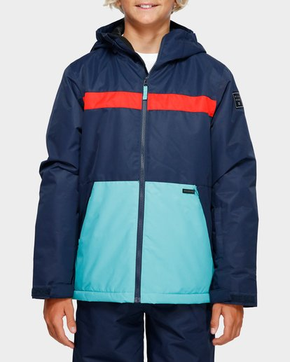 1 Boys All Day 2L 10K Jacket Blue Q6JB10S Billabong