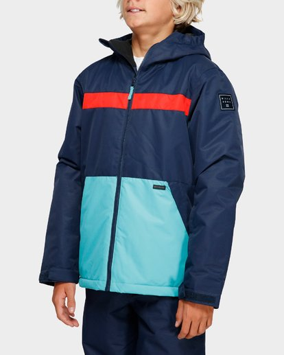 2 Boys All Day 2L 10K Jacket Blue Q6JB10S Billabong