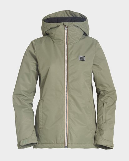 4 Sula 2L 10K Jacket Green Q6JF01S Billabong