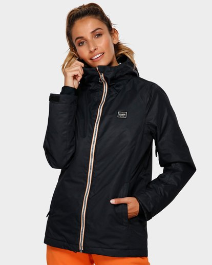 0 Sula 2L 10K Jacket Black Q6JF01S Billabong