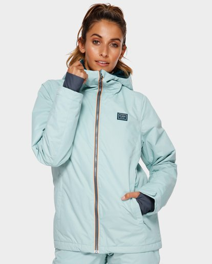 0 Sula 2L 10K Jacket Blue Q6JF01S Billabong