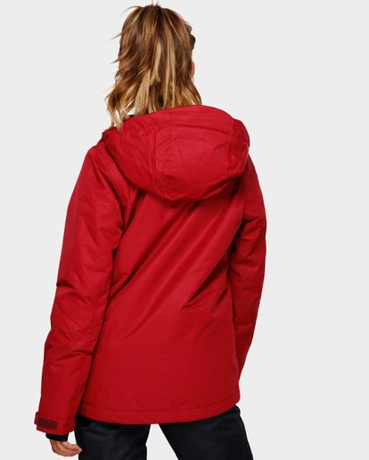 3 Sula 2L 10K Jacket Red Q6JF01S Billabong