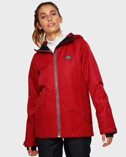 1 Sula 2L 10K Jacket Red Q6JF01S Billabong