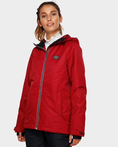 2 Sula 2L 10K Jacket Red Q6JF01S Billabong