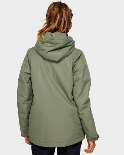 3 Sula 2L 10K Jacket Green Q6JF01S Billabong