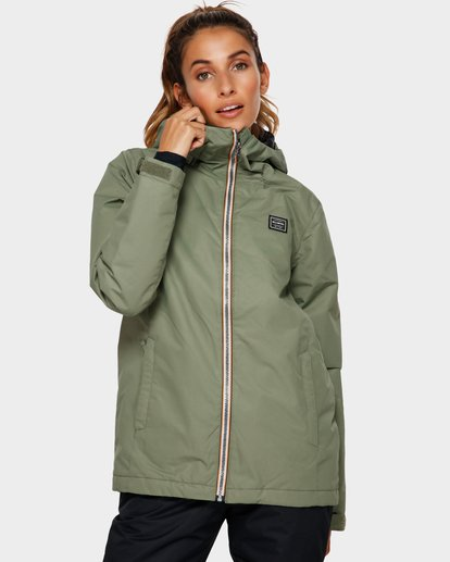 1 Sula 2L 10K Jacket Green Q6JF01S Billabong