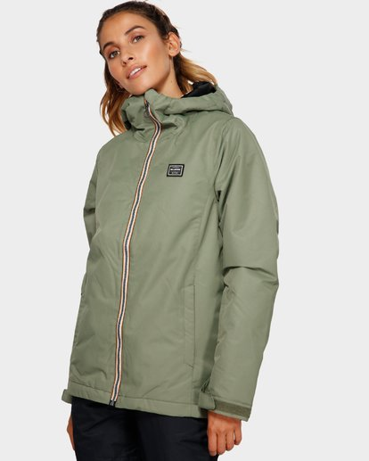 2 Sula 2L 10K Jacket Green Q6JF01S Billabong