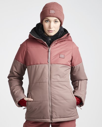 0 Down Rider - Snow Jacket for Women Purple Q6JF02BIF9 Billabong