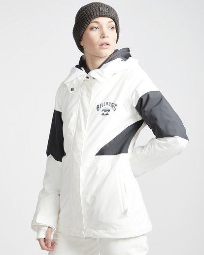 1 Say What - Snow Jacket for Women White Q6JF03BIF9 Billabong