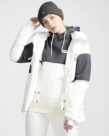 3 Say What - Snow Jacket for Women White Q6JF03BIF9 Billabong